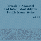 Trends in Neonatal and infant moratlity for Pacific island states 2015