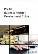 Pacific business register Dev guide