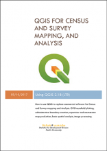 QGIS for census and survey mapping and analysis-2017